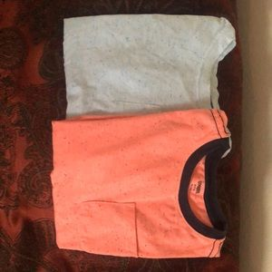 Two short sleeve tops in excellent condition
